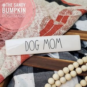 Rae Dunn DOG MOM Desk Plaque